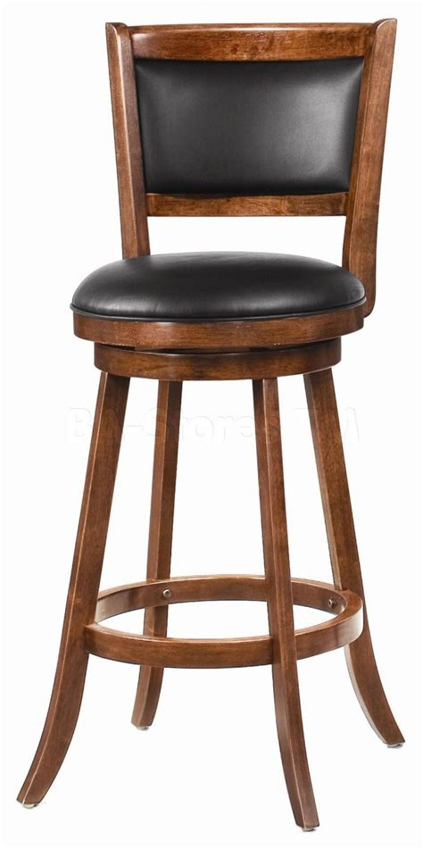 Seat Covers For Bar Stools With Backs by Furniture Brown Wooden Swivel Bar Stools With Black