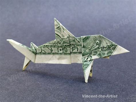 Dollar Origami Shark - dollar bill origami dollar bills and sharks on