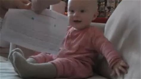 Rejection Letter Baby Laughing Laughing 8 Month Baby Attracts Millions On 680 News