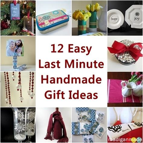Easy To Make Handmade Gifts - ideas for or any and crafts