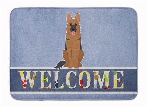 german washable rugs german shepherd welcome machine washable memory foam mat