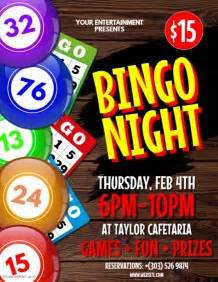 Customize 670 Contest Poster Templates Postermywall Bingo Flyer Template Free