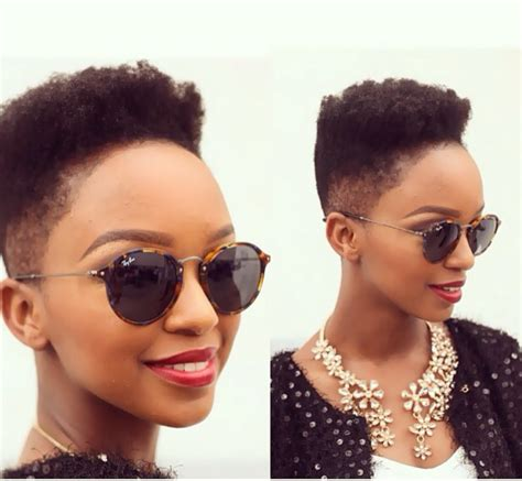 south africal celebrities with african hair different fabulous low cut hairstyle options yaa somuah