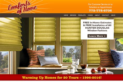comforts of home elko comforts of home websy daisy austin texas web design