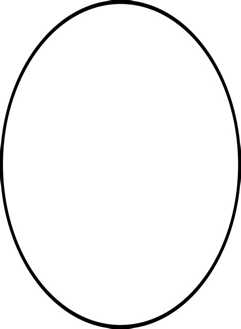 the oval oval shape clipart clipart collection sports