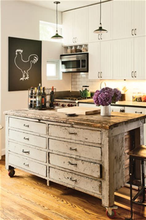 repurposed kitchen island how to get the kitchen of your dreams