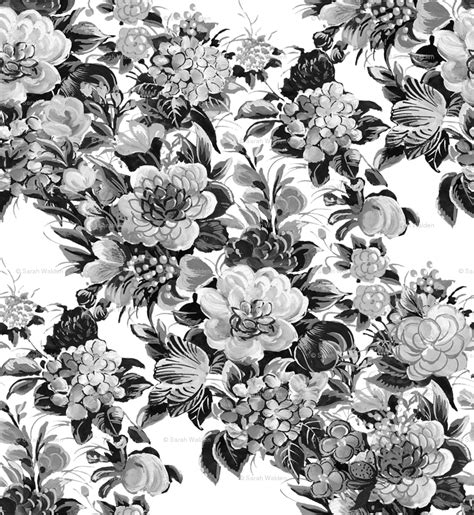 modern floral wallpaper floral retro white damask volvoab