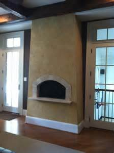 stucco fireplace pictures and ideas