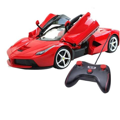 toy ferrari model cars buy 1 16 scale rechargeable rc ferrari style car with