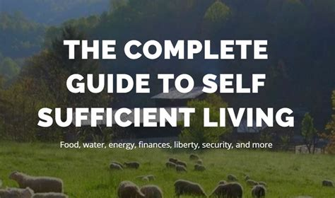 the self sufficiency handbook your complete guide to a self sufficient home garden and kitchen books complete guide to self sufficient living homestead launch