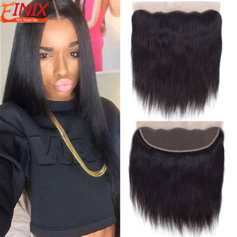 hair music full frontal rosa hair products brazilian lace frontal closure straight