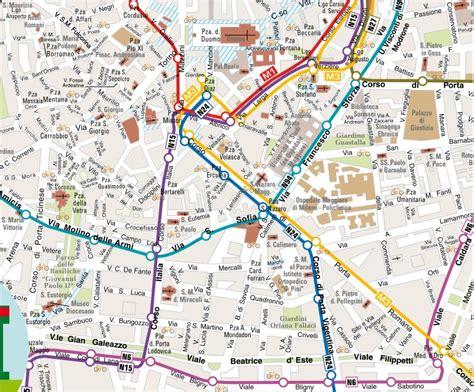 porta romana mappa linee notturne atm orari e mappa dei mezzi