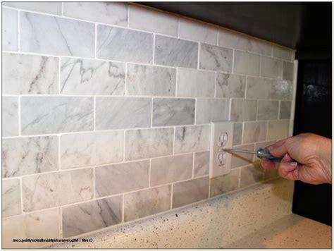 groutless kitchen backsplash groutless marble tile backsplash tiles home design