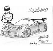 Desen  Pagani Zonda R A Car Tamed By The Stig