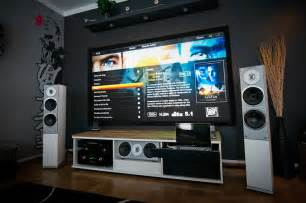 Home Theater System Design Tips by A Massive Home Entertainment Setup