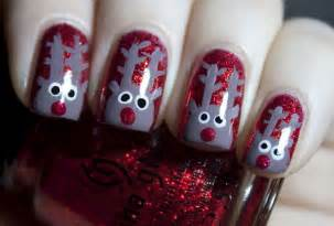 15 simple amp easy christmas nail art designs amp ideas 2012 for beginners