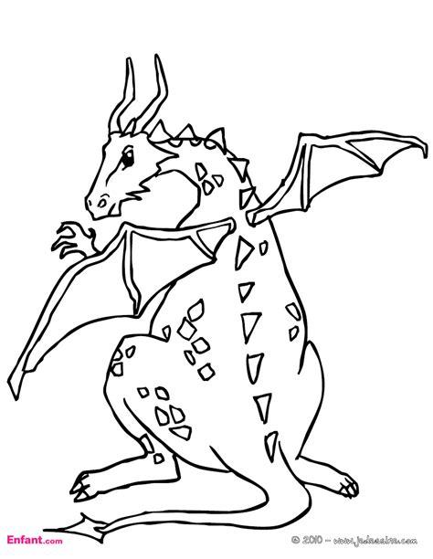 dibujo a lpiz de un dragn convertimageme coloriages pour gar 231 on le dragon