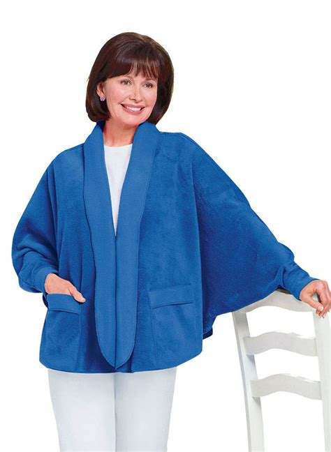 fleece bed jacket fleece bed jacket amerimark online catalog shopping