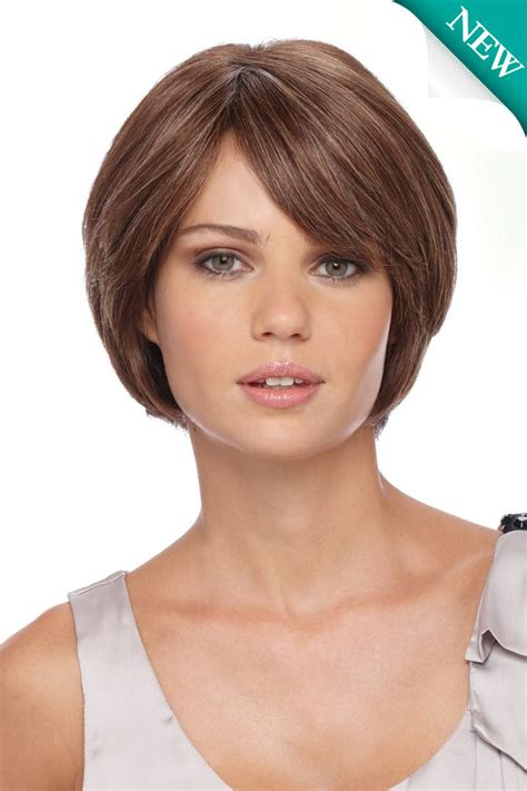bobhaircut with side bangs wispy sides growing out a graduated bob short hairstyle 2013