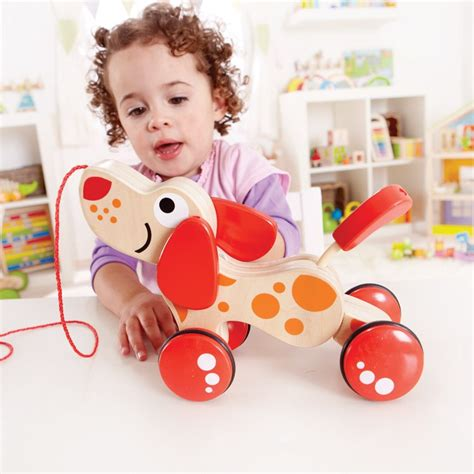 Puzzle Puppy Baby Walker 2 In 1 walk along puppy toddler pull educational toys planet