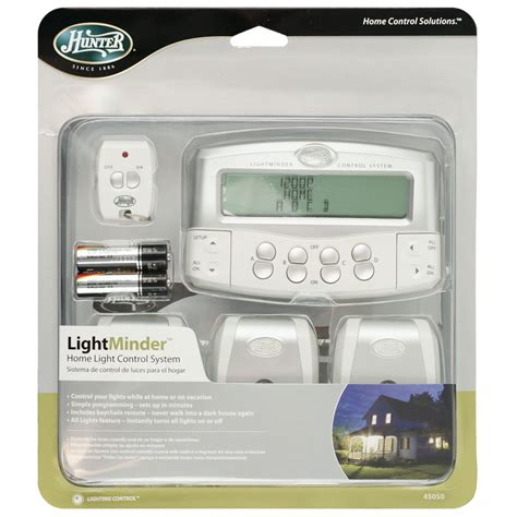 turn on house lights remotely home light control system with remote control by hunter