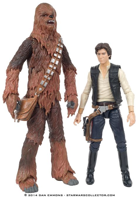 Han Wars Black Series 6 Inch the black series 6 quot 04 chewbacca with han