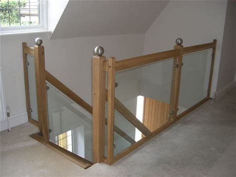 Glass Landing Banister by Landing Balustrade Spiral Staircases And Staircases
