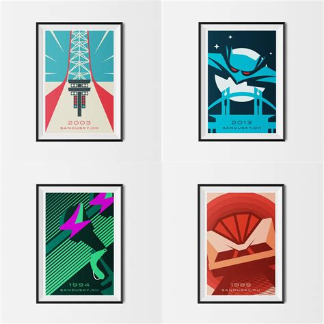 Cedar Point Giveaway - giveaway made to thrill cedar point posters cp food blog