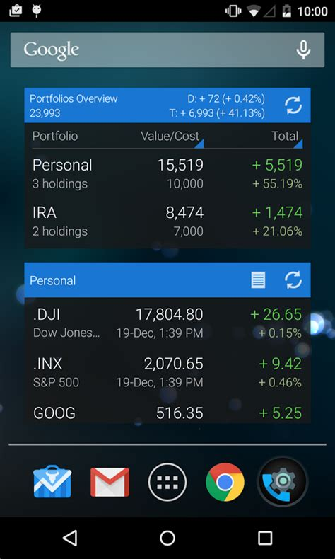 android stock price best stocks monitoring apps and widgets for android