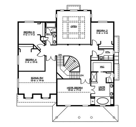 suson place colonial home plan suson oak colonial home plan 071d 0148 house plans and more