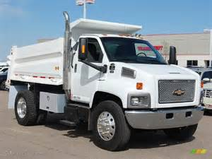 Chevrolet Dump Truck 2006 Summit White Chevrolet C Series Kodiak C7500 Regular