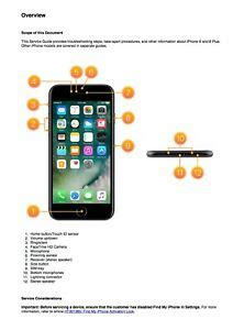 iphone   iphone   service manual guide