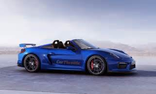 How Many Porsche Gt Were Made This Is How Gorgeous The Porsche Boxster Spyder Gt4 Could Look