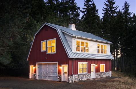 Saltbox Home Plans by Pole Barn House Shed Traditional With White Door Resin Sheds