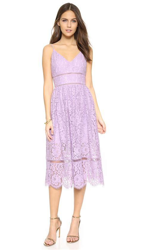 Cyntia Dress Cc lyst cynthia rowley lace tea dress