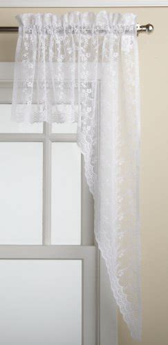 lorraine home fashions seville ecru curtains lowest price lorraine home fashions priscilla 60 inch x 12 inch valance ivory free shipping