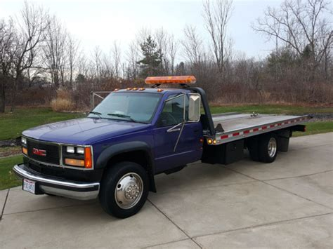 how to work on cars 1994 gmc 3500 interior lighting 94 gmc sierra 3500 wrecker rollback tiltbed stinger turnkey everything works nr for sale gmc