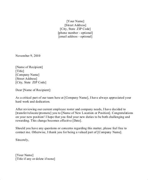 letter for promotion of employee 30 promotion letters free word pdf excel format