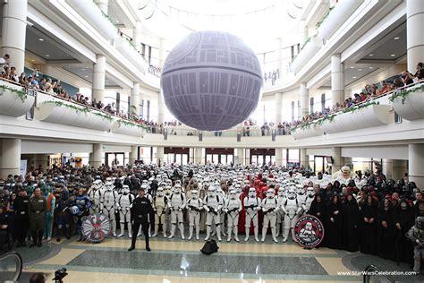 star wars celebration v death star hallway recreation a photo on flickriver paul depaola the star wars report