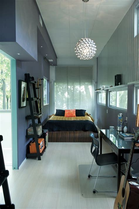 Container Homes Interior This Container Home Interiors Pinterest
