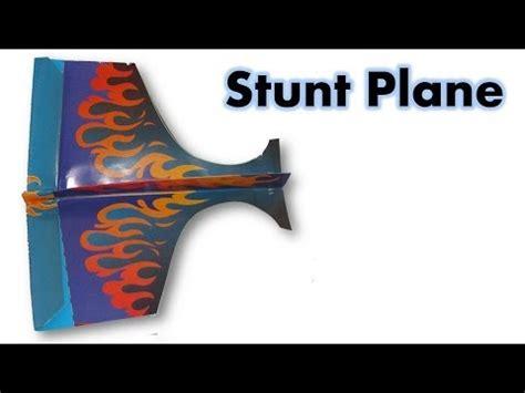 Origami Stunt Plane - origami paper stunt plane