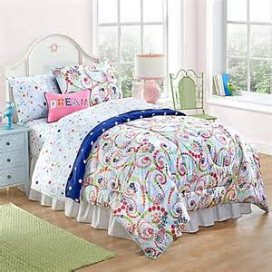 Bedding And Comforters Bed Bath And Beyond Paisley And Dot Comforter Set Bed Bath Beyond