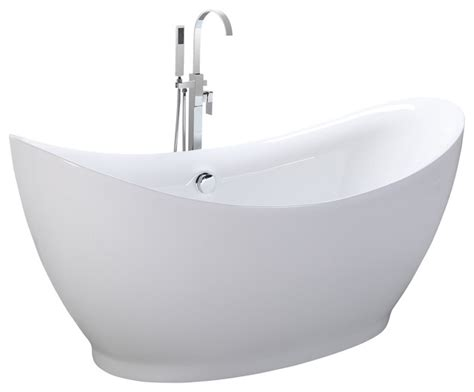 freestanding round bathtub shop houzz kardiel helixbath eleusis freestanding