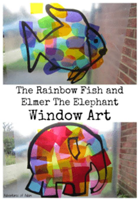 elmer and the rainbow ways to play with books