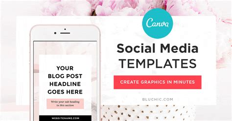 The Easiest Way To Make Amazing Social Media Graphics In Minutes Canva Social Media Templates