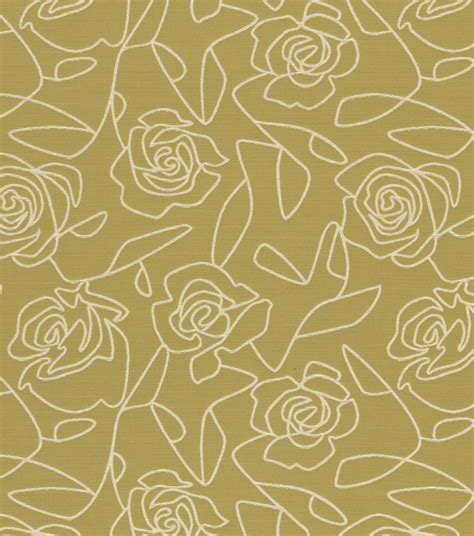 home decor upholstery fabric crypton bed of roses green at