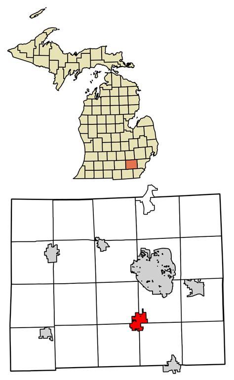 Washtenaw County Search File Washtenaw County Michigan Incorporated And Unincorporated Areas Saline