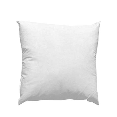 Best Place To Buy Pillow Inserts by 20 X 20 Feather Pillow Form White Discount