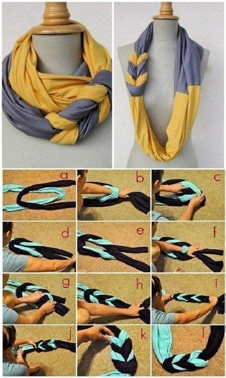 19 amazing ways to twist tie and style your scarf