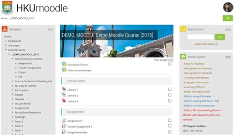 moodle theme version upgrade of moodle learning management system and